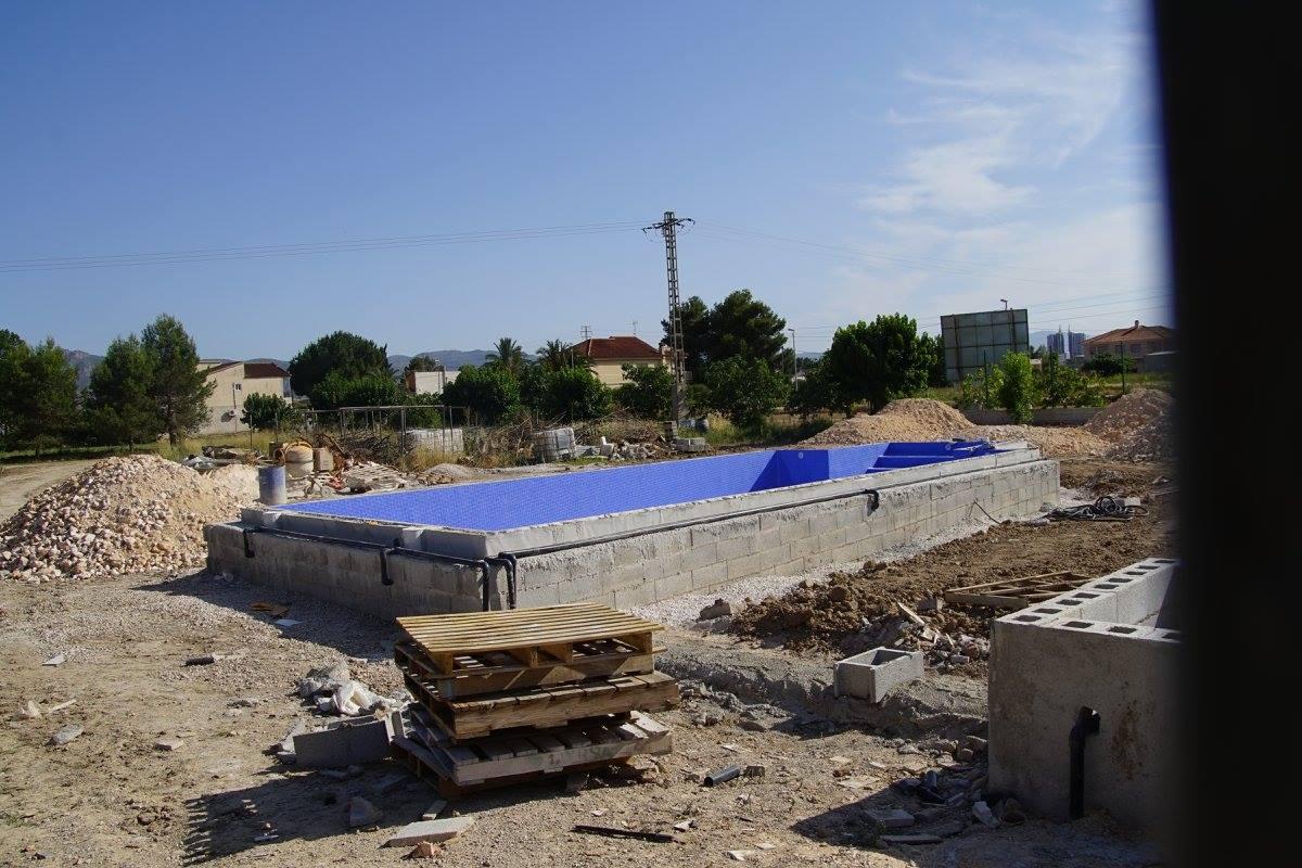 Construcción piscina Murcia