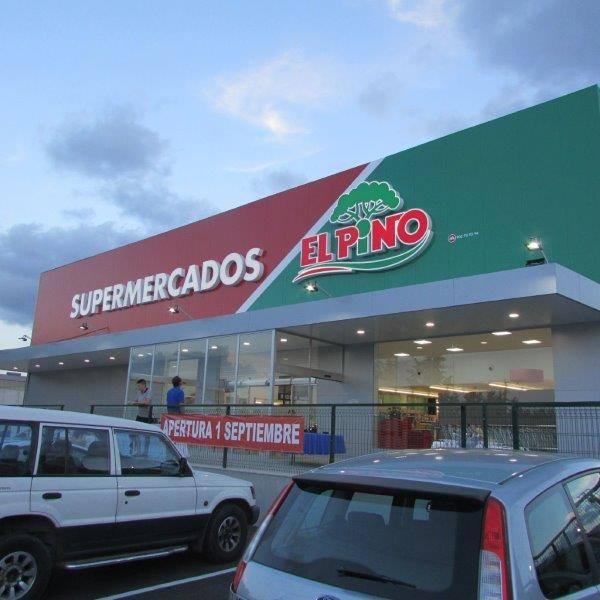 Obra supermercado en Murcia