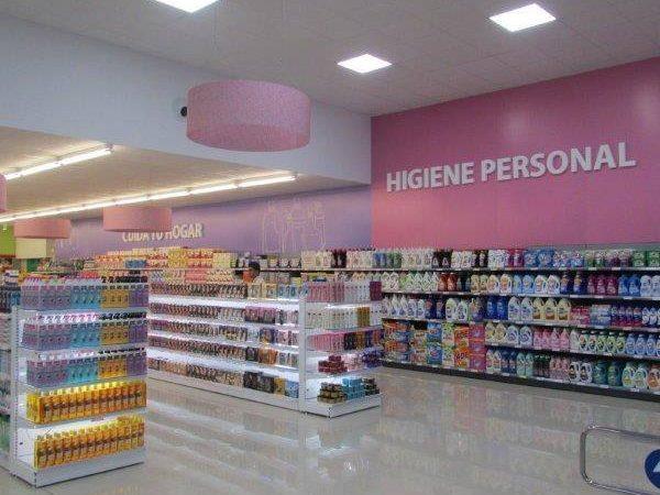 Supermercado reformado en Murcia