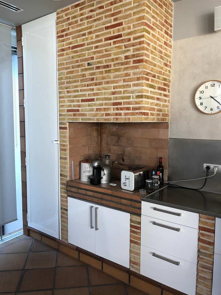 Detalle cocina reformada Murcia