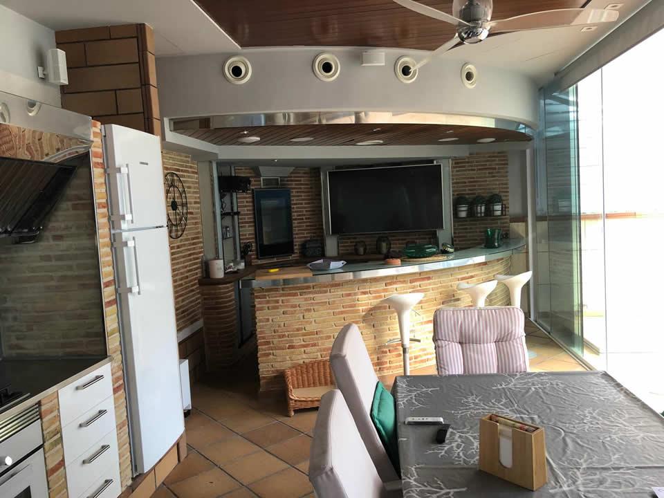 Interior cocina reformada Murcia