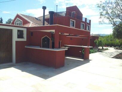 Barbacoa construida en Murcia