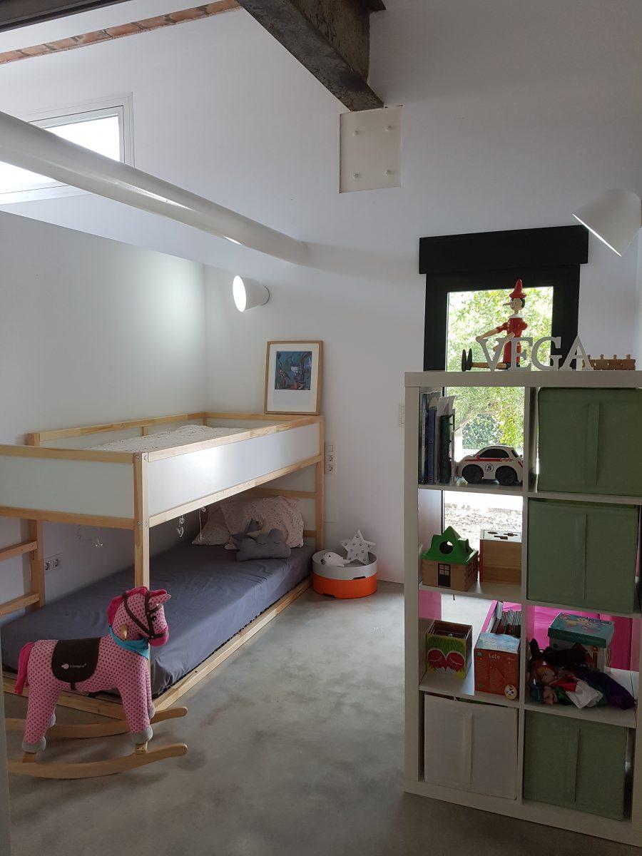 Habitación infantil obra